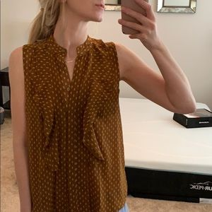 NWT Ann Taylor sleeveless blouse